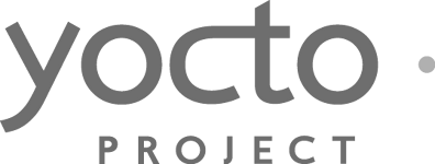 The Yocto Project black and white logo